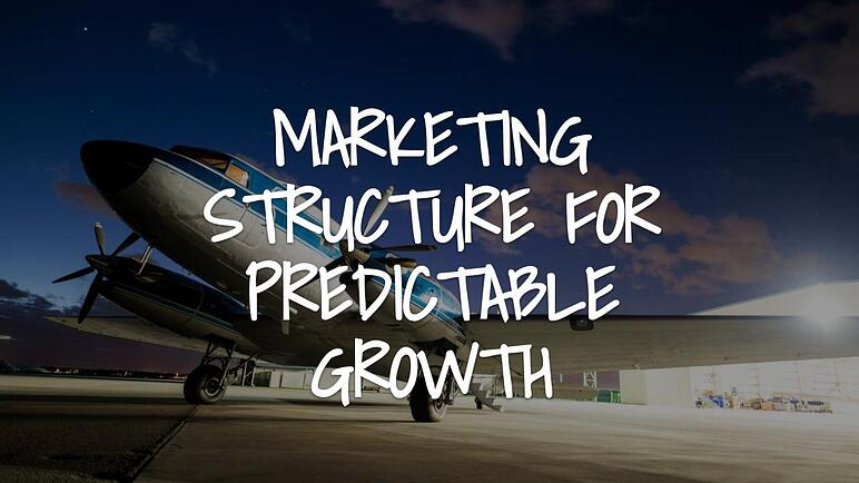 Marketing Structure For Predictable Growth