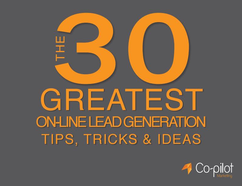 Online Lead Generation Tips