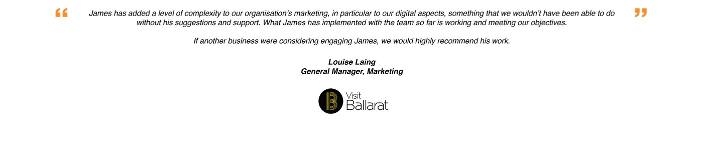 Louise-James Rendell Testimonial