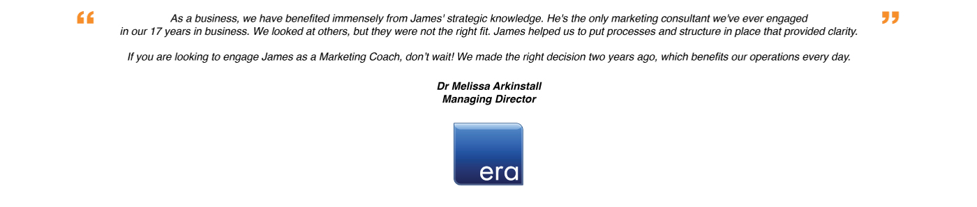 Melissa-James Rendell Testimonial